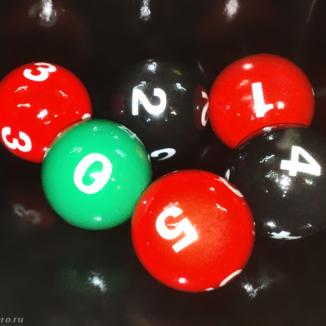 Шарики для лототрона d4k в широкой палитре цветов, с антистатическим спецпокрытием и с номерами