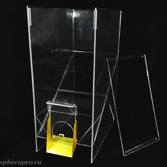 Диспенсер для макарон, круп и других сыпучих продуктов, объем 100 литров