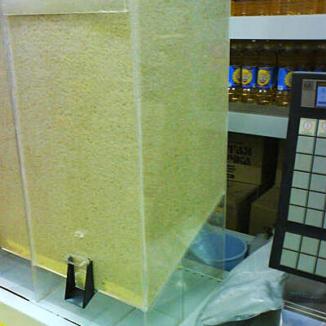Диспенсер для макарон, круп и других сыпучих продуктов, объем 20 литров