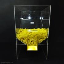 Диспенсер для макарон, круп и других сыпучих продуктов, объем 30 литров