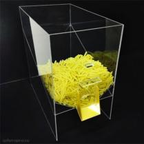 Диспенсер для макарон, круп и других сыпучих продуктов, объем 50 литров