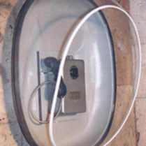 Телефонная кабина (таксофонная, телефонная полукабина) Капля