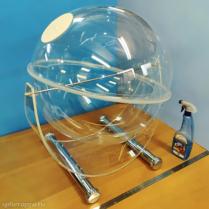 Объемный настольный сферический лототрон для проведения лотереи с барабаном в 116 литров