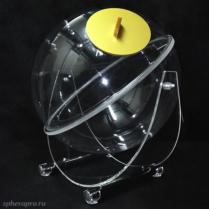Лототрон со сферическим барабаном объемом 40 литров