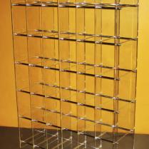 Многоэтажная стойка для односекционных витрин