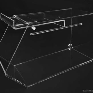 Удобная крышка витрины из оргстекла (1 секция)