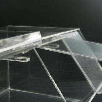 Удобная крышка витрины из оргстекла