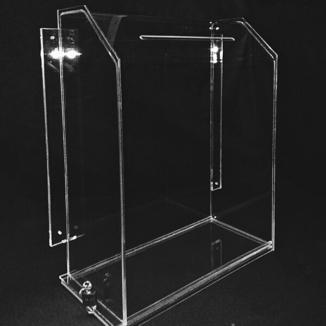 Прозрачный настенный ящик для корреспонденции, голосования, акций К341
